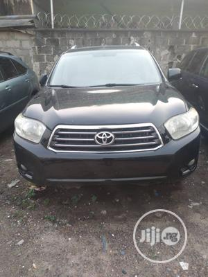 Toyota Highlander 2009 Black | Cars for sale in Lagos State, Isolo