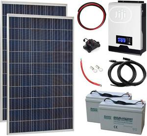 24hrs Solar Inverter and Backup Battery Systems | Solar Energy for sale in Lagos State, Surulere