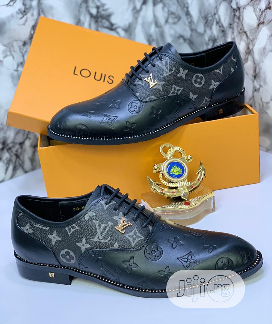 Louis Vuitton Luxury Men Leather Shoes   Shoes for sale in Lagos Island (Eko), Lagos State, Nigeria