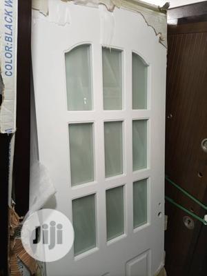 Wooden Door With Glass | Doors for sale in Lagos State, Apapa
