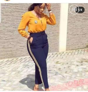 Trendy Female Quality Long Sleeve Up Down Trouser Top | Clothing for sale in Lagos State, Ikeja