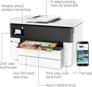 HP Officejet Pro 7740 Wireless All-In-One Printer   Printers & Scanners for sale in Lagos State, Ikeja