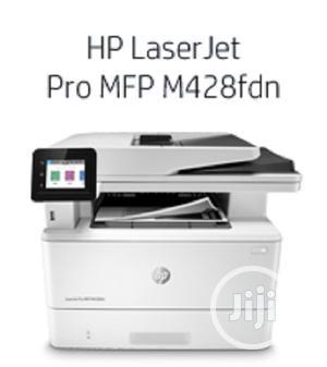HP Laserjet Pro Multifunction M428fdw Wireless   Printers & Scanners for sale in Lagos State, Ikeja