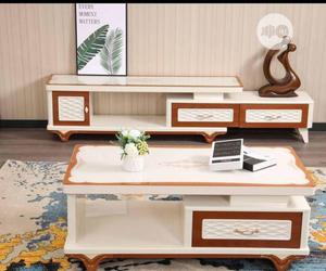 Original TV Stand With the Center Table.   Furniture for sale in Lagos State, Ogudu