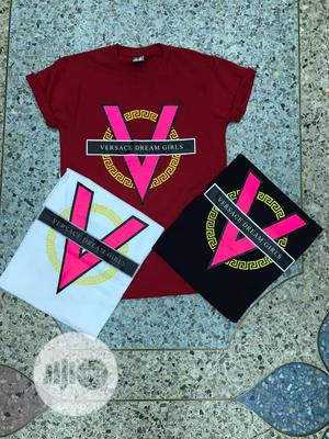 Trendy Female Quality Polo Tshirt Top With Good Inscriptions   Clothing for sale in Lagos State, Ikeja