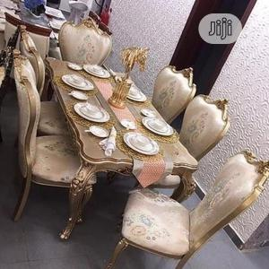 Set of Royal (Wooden ) Dinning Table by 6 | Furniture for sale in Lagos State, Ojo