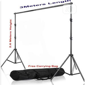 Rry Adjustable Photo 2.6 X 3M Background Stand With Free Bag   Accessories & Supplies for Electronics for sale in Lagos State, Lekki