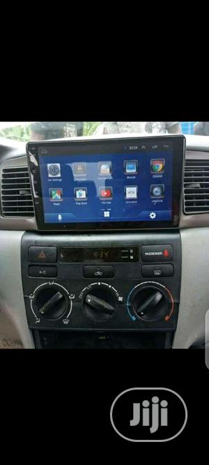 Car Android Dvd for Corolla S With Gps Map   Vehicle Parts & Accessories for sale in Lagos State, Ikeja