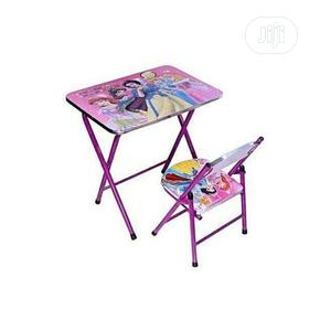 Unisex Kids Children Reading Dinning Table And Chair   Children's Furniture for sale in Lagos State, Lagos Island (Eko)