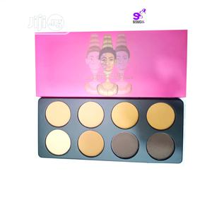 8 in 1 Glamour Touch Powder Palette   Makeup for sale in Lagos State, Amuwo-Odofin