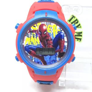 Spiderman Smf400 Blue Red Digital Wristwatch | Babies & Kids Accessories for sale in Abuja (FCT) State, Wuse 2