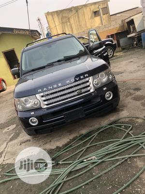Land Rover Range Rover Sport 2009 Blue | Cars for sale in Lagos State, Alimosho