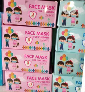 Face Mask for Children 50pcs | Medical Supplies & Equipment for sale in Lagos State, Isolo