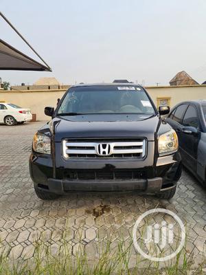 Honda Pilot 2007 EX-L 4x4 (3.5L 6cyl 5A) Black | Cars for sale in Lagos State, Amuwo-Odofin
