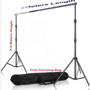 2.6 X 3M Adjustable Photo Background Stand With Carry Bag   Accessories & Supplies for Electronics for sale in Lagos State, Ikeja