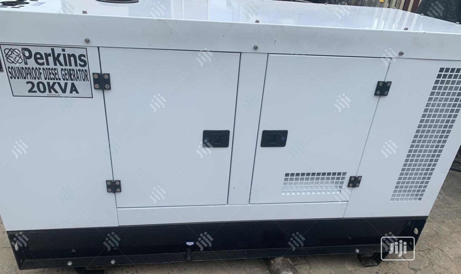 20kva Perkins SOUNDPROOF Generator | Electrical Equipment for sale in Alimosho, Lagos State, Nigeria