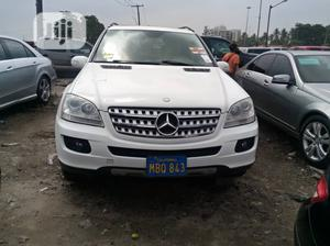 Mercedes-Benz M Class 2009 ML350 AWD 4MATIC White | Cars for sale in Lagos State, Amuwo-Odofin