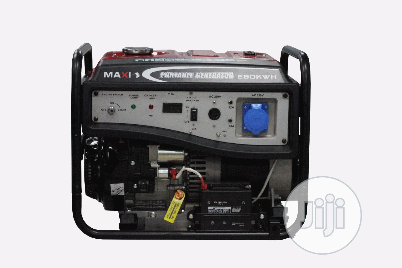 Maxi 10kva Petrol Generator 80EK
