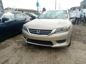 Honda Accord 2015 Gold   Cars for sale in Lagos State, Alimosho