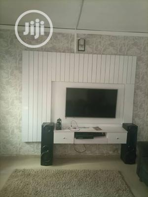 White TV Consoler Led Light | Furniture for sale in Lagos State, Ejigbo