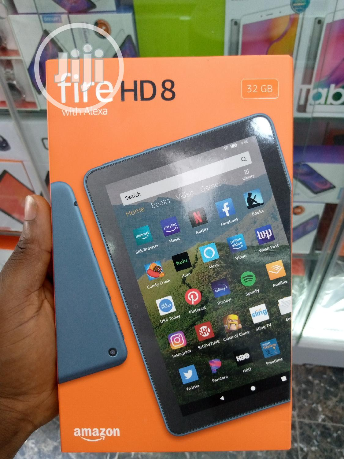 New Amazon Fire HD 8 (2020) 32 GB | Tablets for sale in Ikeja, Lagos State, Nigeria