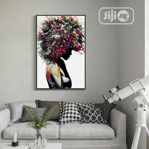 Art of Black Woman Canvas Paintings | Home Accessories for sale in Lagos State, Ajah