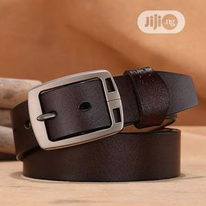 Authentic Leather Belt for Men   Clothing Accessories for sale in Lagos State, Lekki