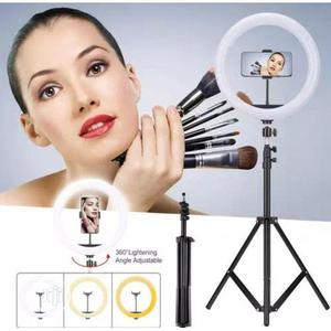 Selfie Ring Light With Tripod Stand For Video Live Streaming   Accessories for Mobile Phones & Tablets for sale in Lagos State, Lagos Island (Eko)