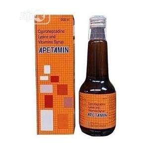 Apetamin Weight Gain Syrup 200ml | Vitamins & Supplements for sale in Lagos State, Ikeja