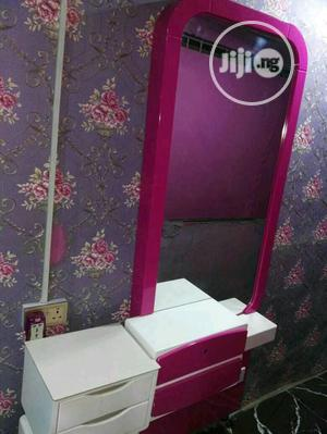 Mirror With Front Drawer and Side Drawer   Salon Equipment for sale in Lagos State, Ojo