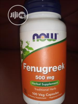 Fenugreek Capsules 500mg (100 Capsules) | Vitamins & Supplements for sale in Lagos State, Amuwo-Odofin