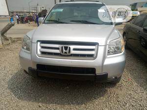 Honda Pilot 2007 EX-L 4x4 (3.5L 6cyl 5A) Gold | Cars for sale in Lagos State, Abule Egba