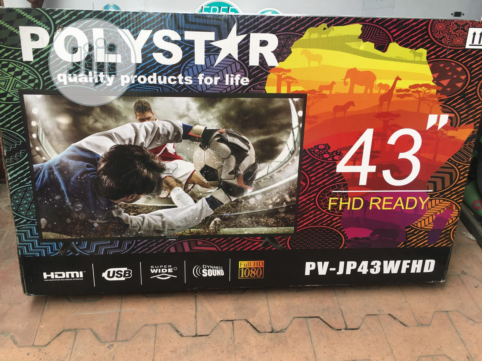 """Archive: Polystar 43"""" Inches Hd Led Tv"""