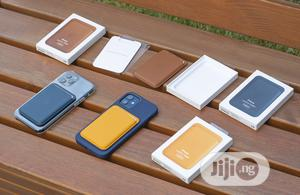 Leather Wallet With Magsafe for iPhone 12 Series   Accessories for Mobile Phones & Tablets for sale in Lagos State, Ikeja