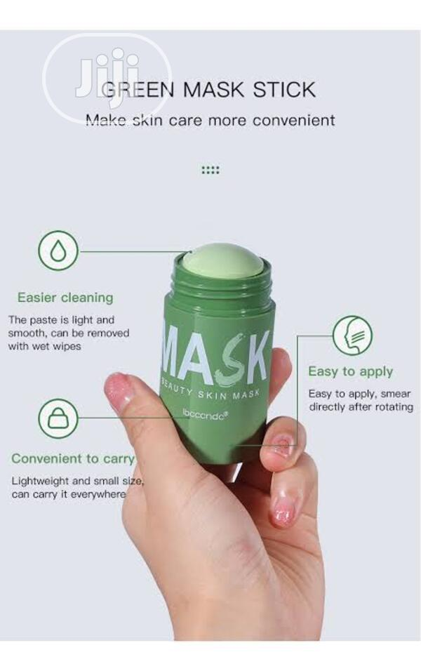 Green Mask Stick | Skin Care for sale in Ikeja, Lagos State, Nigeria