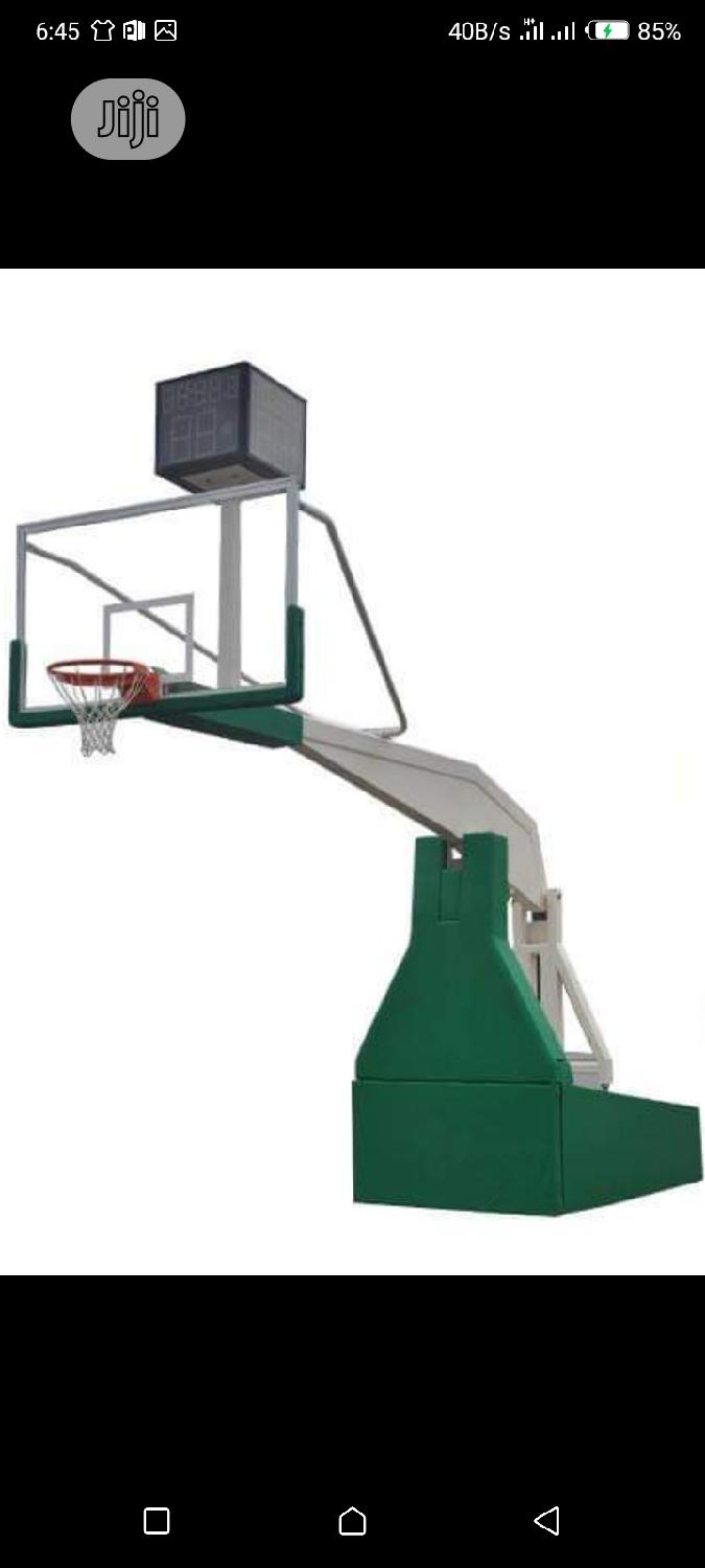 Archive: Standard Olympic Basketball Stand for Professional
