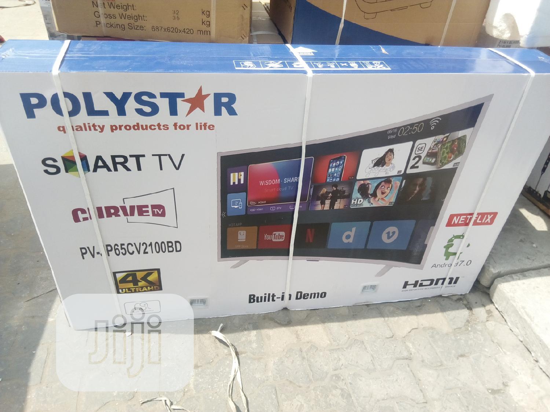 "Archive: Polystar 65"""" Smart Curved Tv= Pv-P65cv2100bd"