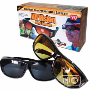 HD Day Night Vision Glasses - 2pieces | Safetywear & Equipment for sale in Lagos State, Abule Egba