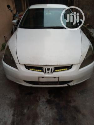Honda Accord 2002 LX Automatic White   Cars for sale in Oyo State, Ibadan