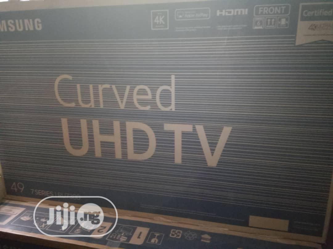 """Archive: Samsung 65"""" Curved TV"""