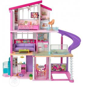Barbie Dreamhouse Dollhouse With Wheelchair Accessible Eleva | Toys for sale in Lagos State, Ajah