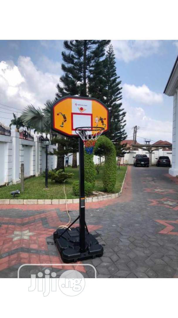 New American Fitness Basketball Stand