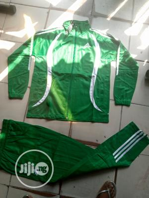 Adidas Green Tracksuit | Clothing for sale in Lagos State, Surulere