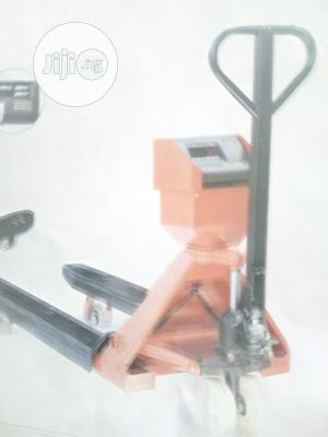 3tons Pallet Truck With Scale | Store Equipment for sale in Lagos State, Ikeja