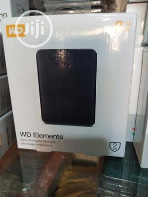 WD Elements 2TB External Hard Drive 3.0 USB | Computer Hardware for sale in Lagos State, Ikeja