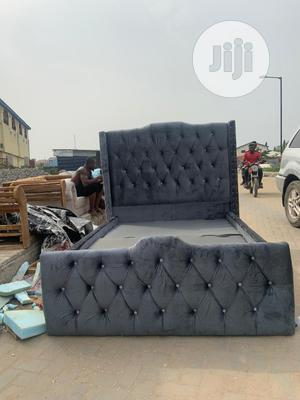4nd Half by 6 Upholstery Bedframe   Furniture for sale in Lagos State, Lekki