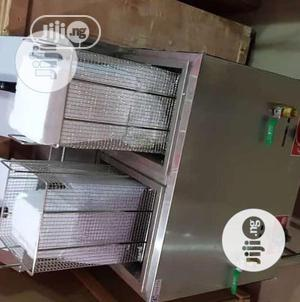 Double 20L X2 Tank Electric Deep Fryer With Deep Basket | Restaurant & Catering Equipment for sale in Lagos State, Ojo