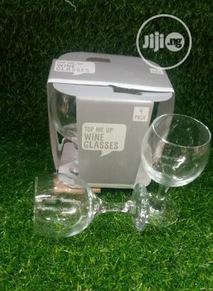 4 Set Wine Glass   Kitchen & Dining for sale in Lagos State, Lagos Island (Eko)