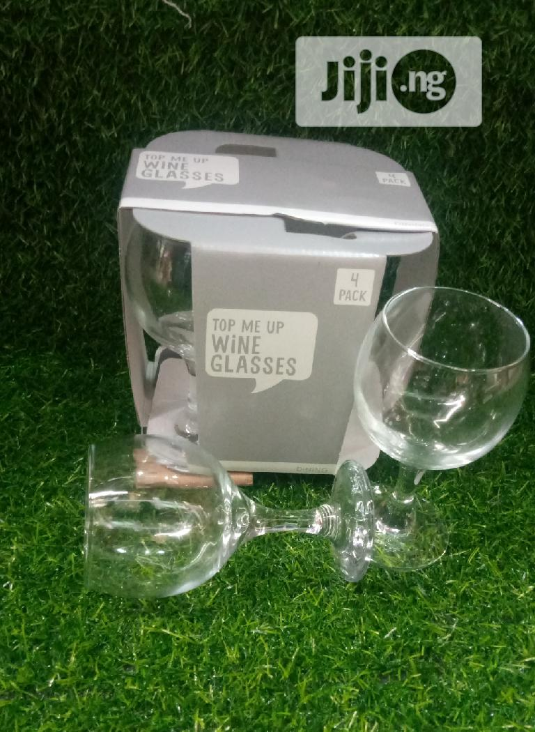 4 Set Wine Glass