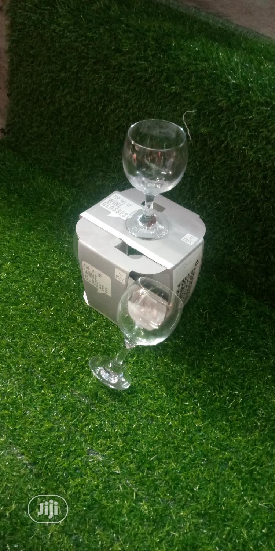 4 Set Wine Glass   Kitchen & Dining for sale in Lagos Island (Eko), Lagos State, Nigeria